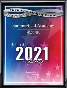2021 Best of Preschool